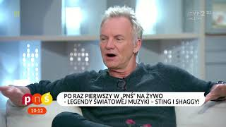 """""""Pytanie na śniadanie"""" – #Sting i #Shaggy w Polsce"""