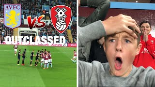 OUTCLASSED *VLOG* Aston Villa vs Rotherham