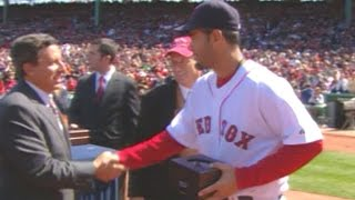 2007 Red Sox receive World Series rings