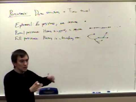 Computational Geometry Lecture 15: Line segment intersection and persistence