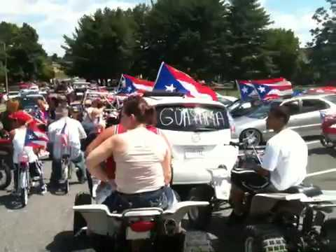 Holyoke MA Puertorican Day Parade 2010