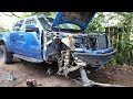 Tearing down my Salvaged Raptor to find all the DAMAGE