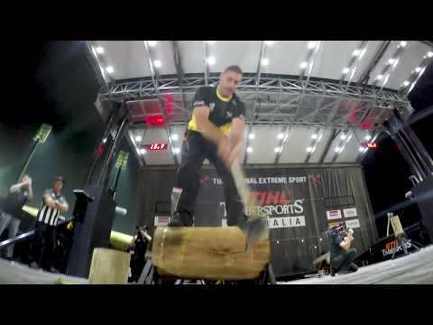 One Hot Minute of Axetion! // STIHL TIMBERSPORTS Australian Champions Trophy 2018