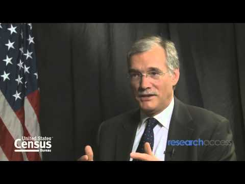 Research Access Interviews Dr Robert Groves From the United States Census Bureau