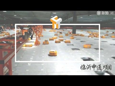shipping-warehouse-robots