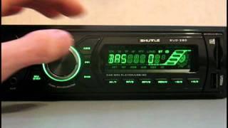 Видеообзор автомагнитолы SHUTTLE SUD-380