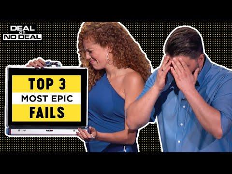 Top 3 Most Epic Fails | Deal Or No Deal