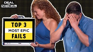 Top 3 Most Epic Fails | Deal Or No Deal