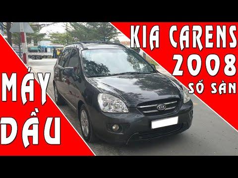 Bán xe hơi cũ 7 chỗ máy dầu Kia Carens cũ 2008 số sàn | SIÊU THỊ Ô TÔ CŨ