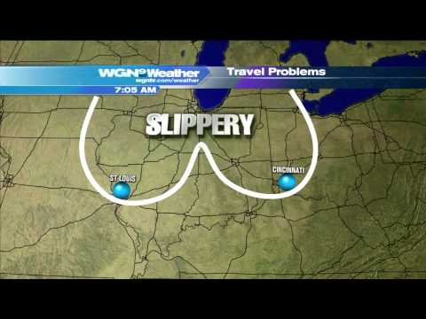 WGN Morning News Guy Showcases Dirty Weather Maps