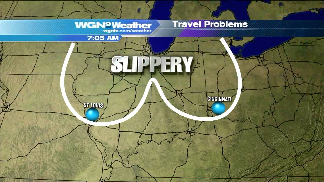 WGN Morning News Guy Showcases Dirty Weather Maps   YouTube