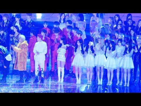 [4K] 181225 마지막무대 - 전출연진(워너원/여자친구/트와이스/선미) @가요대전(고척돔)/Fancam By 쵸리(Chori)