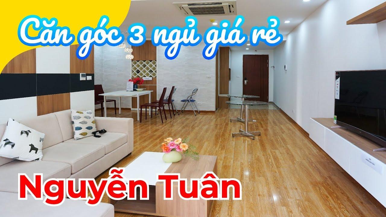 Chung cư GIÁ RẺ NHẤT quận Thanh Xuân: 3.5 tỷ – 3 ngủ – 121m2 (Thống Nhất Complex 82 Nguyễn Tuân)