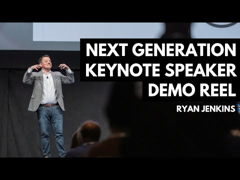 Ryan Jenkins – Next Generation Keynote Speaker Demo Reel 2016