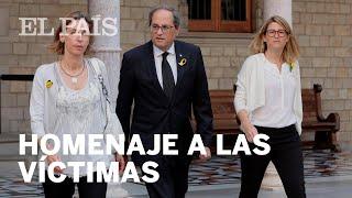 Declaración institucional en recuerdo de las víctimas del 17A | España