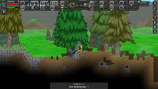 Starbound Ep one, that takes a while