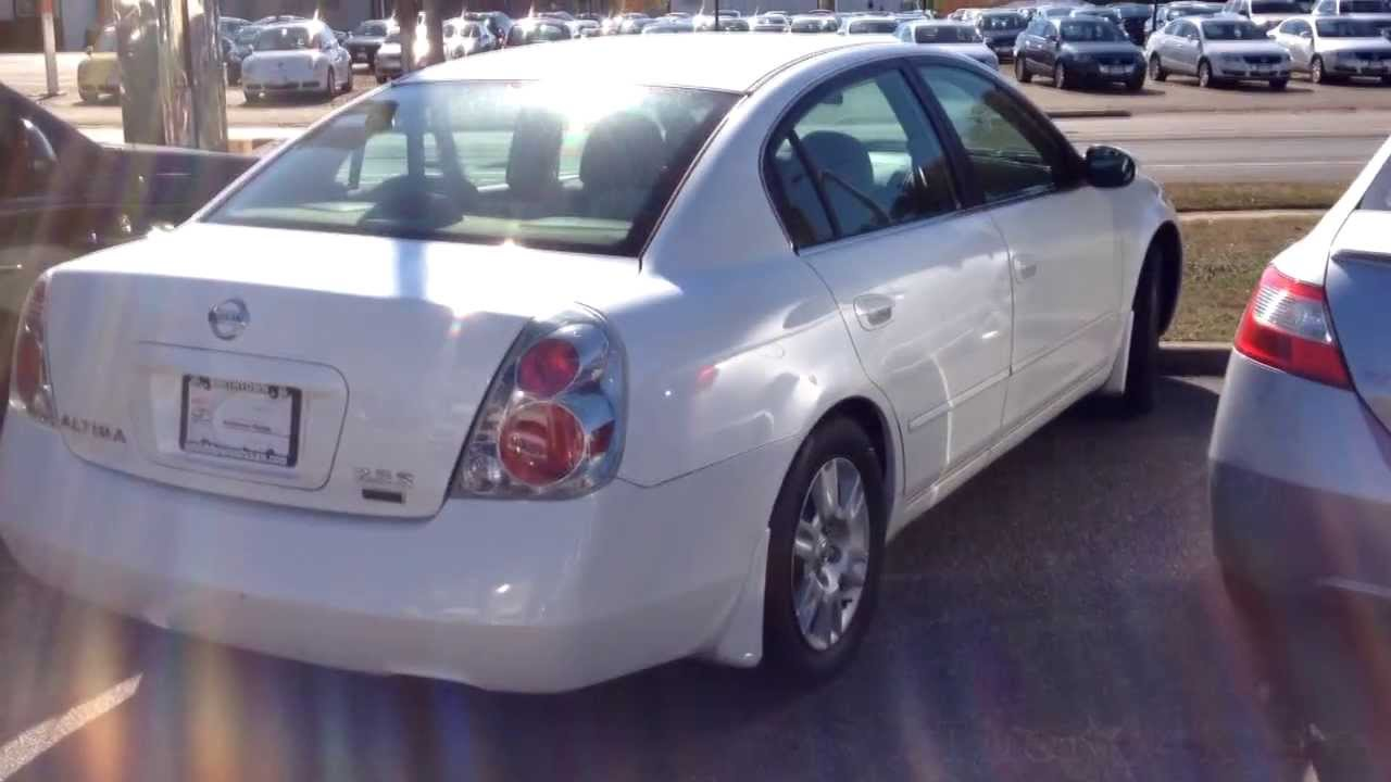 Delightful 2006 NIssan Altima 2.5S Special Edition Walkaround U0026 Overview   YouTube