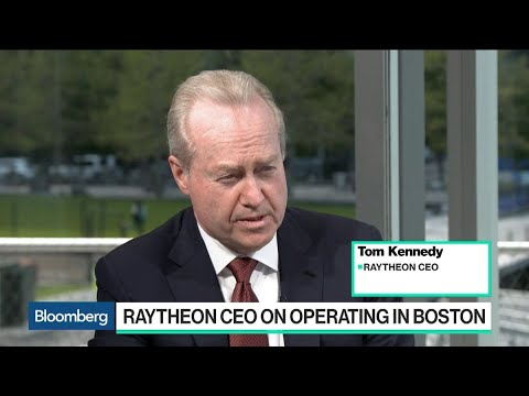 Best People Are in Boston, Raytheon CEO Kennedy Says
