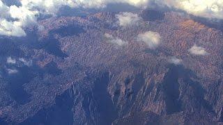 Полет на самолете. И снится нам гора гора у дома, зеленая зеленая гора