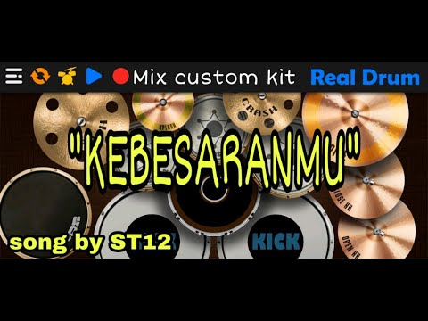 kebesaranmu-by-st12-||-cover-real-drum