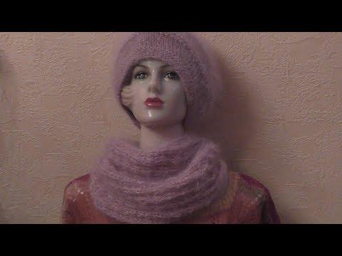 Видеоурок вязания спицами снуда