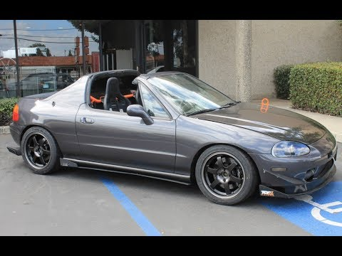 260 whp turbo honda del sol transtop one take cars. Black Bedroom Furniture Sets. Home Design Ideas