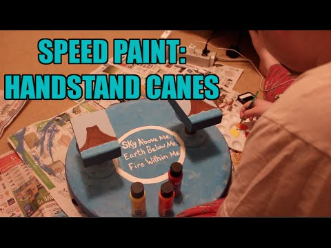 Speed Paint: Handstand Canes