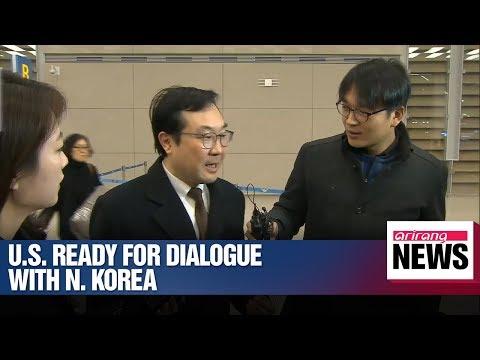U.S. ready to continue negotiations with N. Korea: S. Korea's nuke envoy