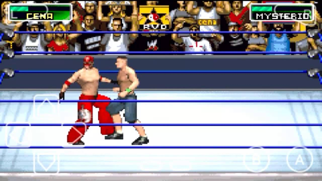 WWE Survivor Series Android Gameplay GBA Simulation