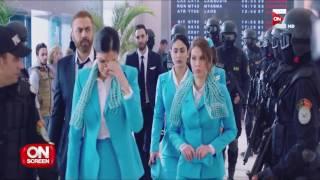 On screen - كواليس مسلسل أرض جو بطولة النجمة غادة عبدالرازق فى ON Series