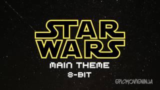 Star Wars Main Theme 8-BIT - John Williams