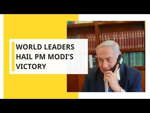 India Votes: Wishes pour in for PM Modi