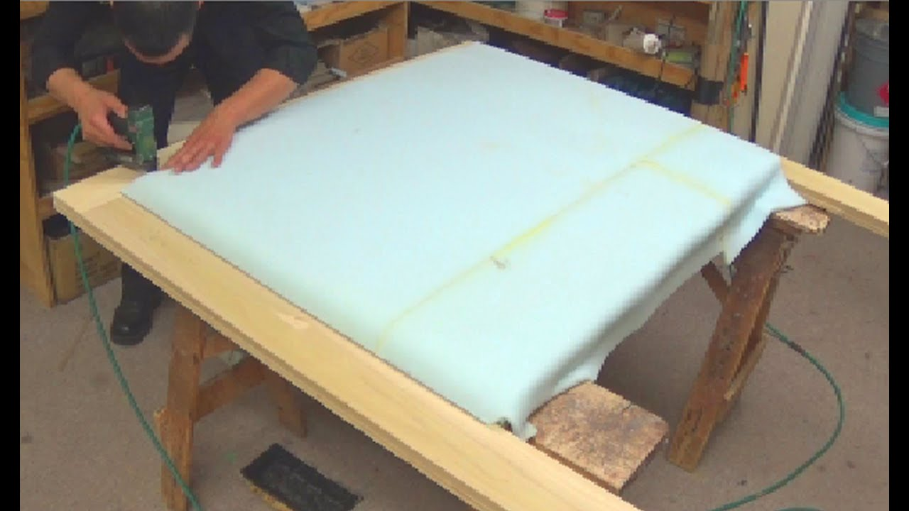 Diy How To Upholster A Headboard Alo Upholstery