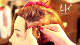 LH®EasyTapes - włosy na taśmie silikonowej