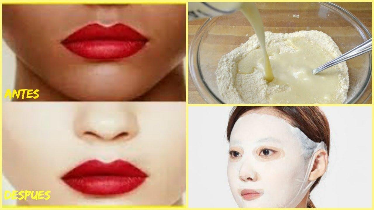 Como Blanquear La Cara En 15 Minutos Con Truco Coreano Youtube