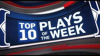 Top 10 Plays of the Week: 11/6/2016 - 11/12/2016