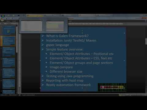Galen Framework using Java programming - Positional attributes, CSS, Text