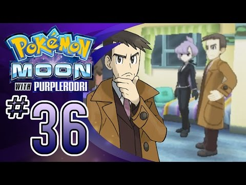 Let's Play Pokemon: Sun and Moon - Part 36 - UB-01 Symbiont