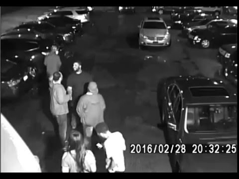CAUGHT ON CAMERA: Penthouse Lounge in Detroit Non-Fatal Shooting Feb 28 2016 #2