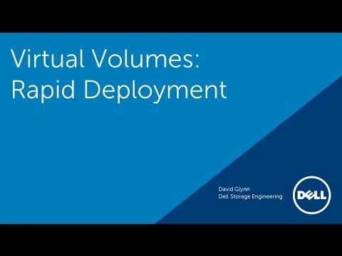 Virtual Volumes: Rapid Deployment of Virtual Machines