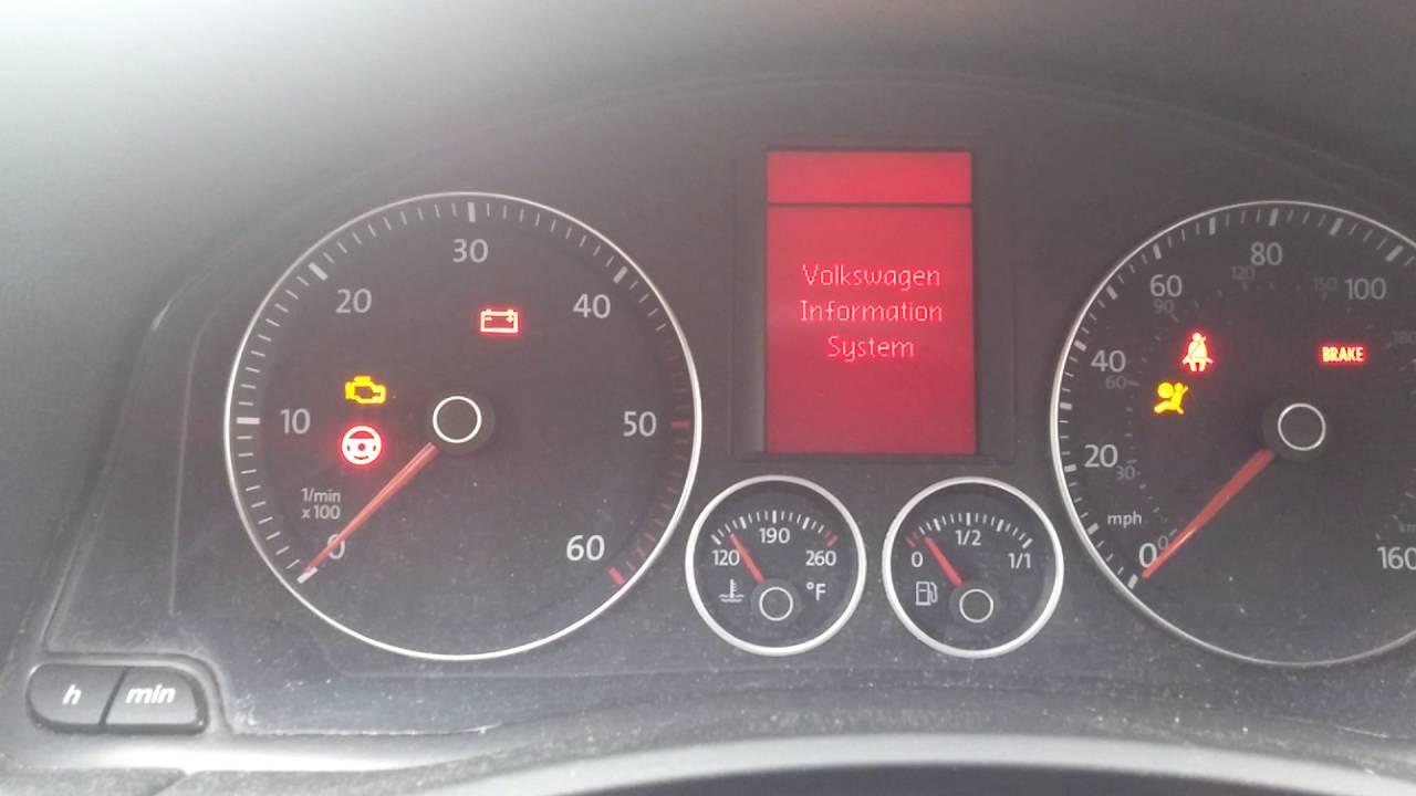 audi a3 engine management light flashing