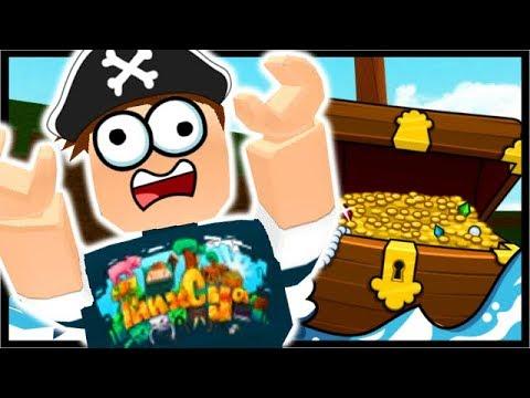 BUILD A SHIP FOR TREASURE IN ROBLOX!!