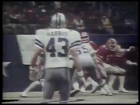 NFL - Highlights - 1979 Game Of Week - Cowboys VS Falcons - 2nd Half    imasportsphile.com