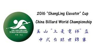 2016 China Billiard World Championship 中式世錦賽 - Simon Ward vs Thorsten Hohmann