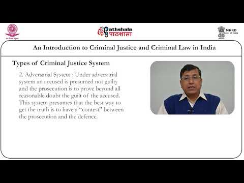 An Introduction to Criminal Justice and Criminal Law