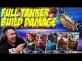 NGAKAK! SQUAD YOUTUBER FULL TANKER TAPI BUILD DAMAGE WKWKWK - Mobile Legends Indonesia