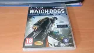 Unboxing WatchDogs PS3 + Opinión personal