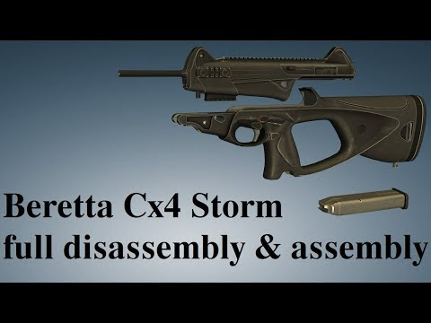 Beretta Cx4 Storm: full disassembly & assembly