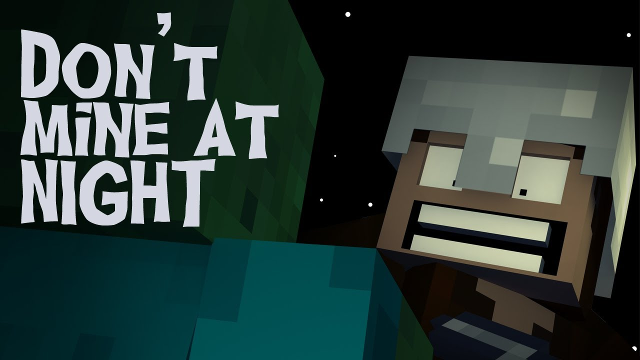 don t mine at night a minecraft parody of katy perry s last