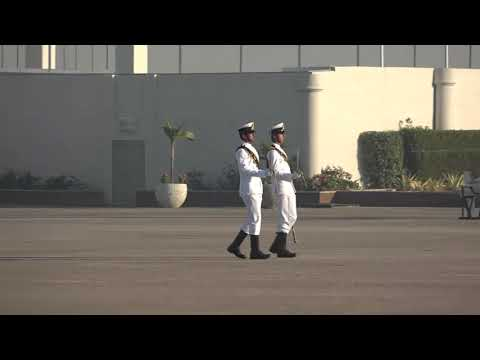 108 midshipmen passing out Prade at Pakistan Naval Academy